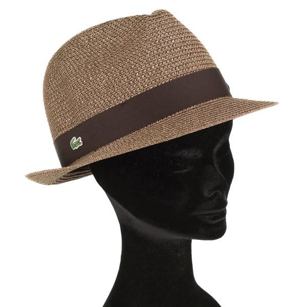 ... Straw Hat men s Lacoste Hat mens summer hats LACOSTE L! VE spring  summer turu Hat ... 39a8379b21f1