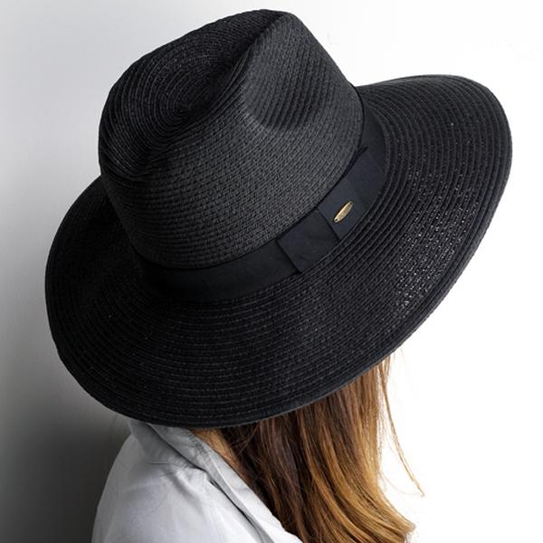 95bd206d3616d Scala straw hat women s paper Hat scalar Hat spring summer brim wide Hat  ladies collar wide straw hat Hat ladies wide brim UV measures awning Hat Hat  UV cut ...