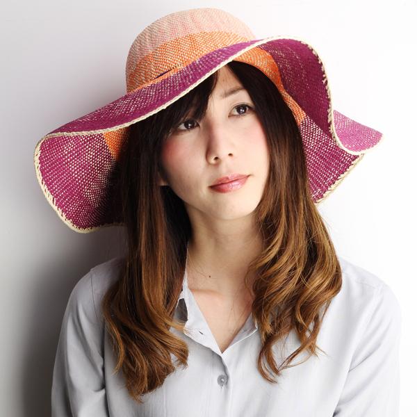 Spit wide Hat ladies scalar actress Hat crochet hook Ed straw hat ladies  wide brim gradient ... 2fe7edcbb97c