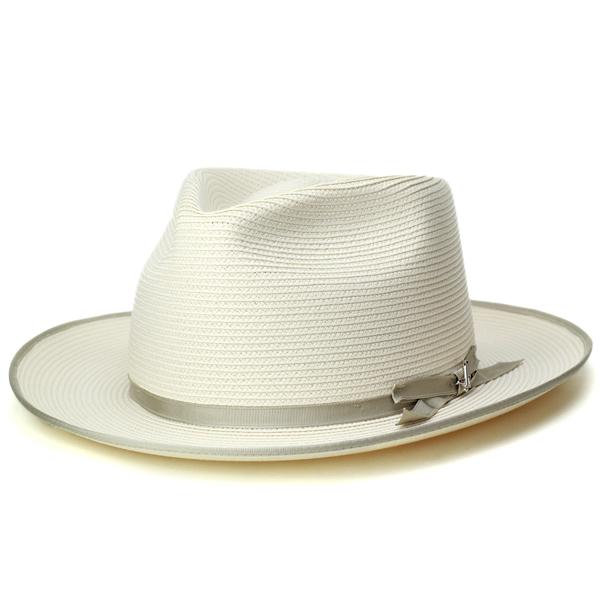ba8ed2c4902 Straw Hat men s Stetson hat stetson blade Hat American brand Hat Milan Brad  classy luxury awning