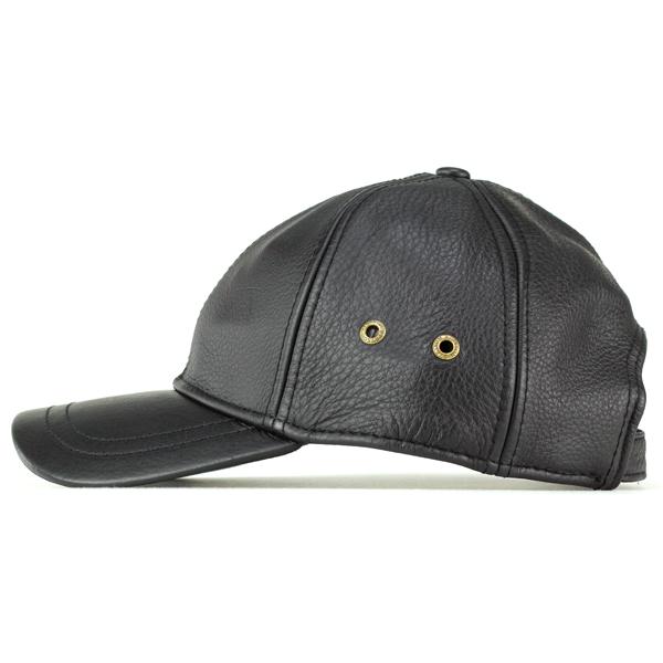 3d6d4f6b494b3 ELEHELM HAT STORE  Cap men s leather Stetson Cap leather men s oily ...