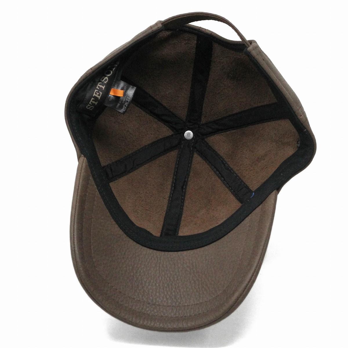 22adf180b07c1 Cap men s leather Stetson Cap leather oily timber stetson Hat Stetson cap  leather leather Cap men size adjustable gift presents tea Brown (Cap and  hats ...