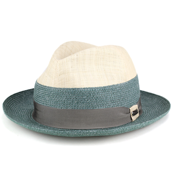 Cool summer tesi Italy brand Hat two tone color raffia straw hat men s tesi  hats caps ... e5b4b075e2a8