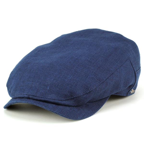 93cb728ed98 Hat mens Cap wigens ivy hemp summer spring Paisley lining simple vigne  fashionable hunting Cap Caps men s Navy Blue Navy (summer men s hat mens CAP  and ...