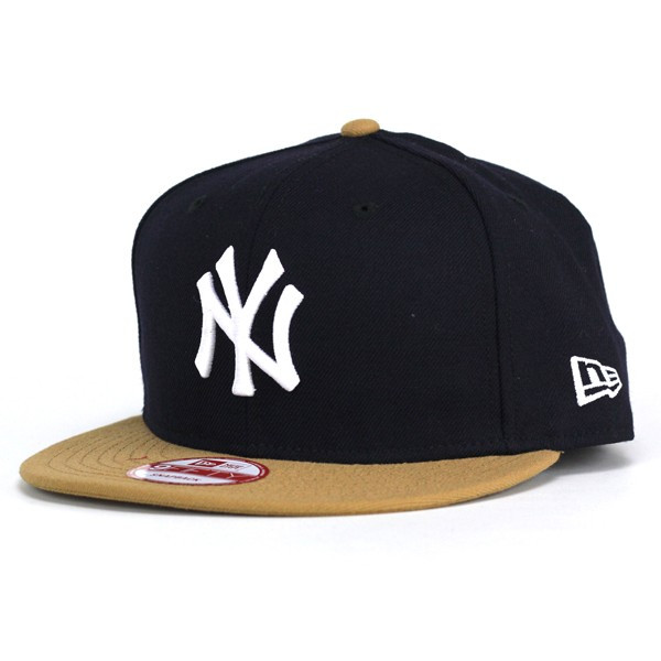 43d5e0fea5f NEWERA Cap mens new era new era 9FIFTY New York Yankees Navy wheat × snow  white