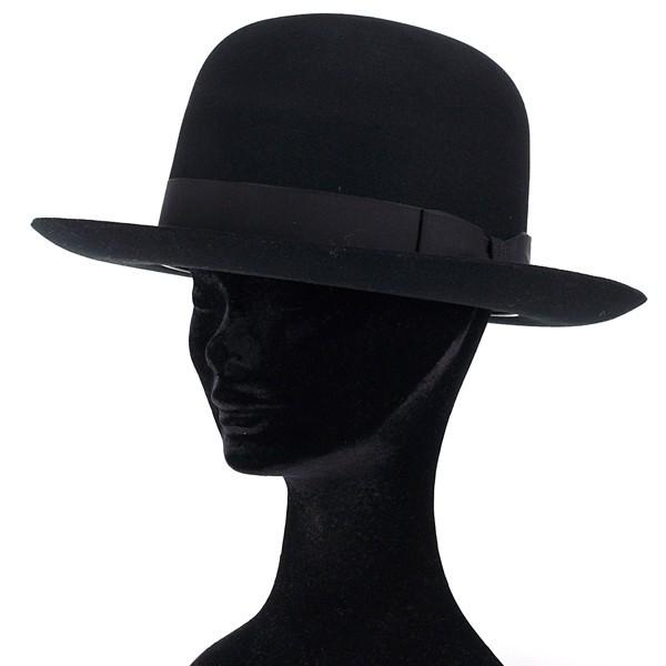 6c300fd4f Lock & co James rock rabbit fur felt Hat CHELSEA jameslock black (turu Hat  wool wool hat with felt Hat felt fall season autumn-winter of Bowler Hat)  ...