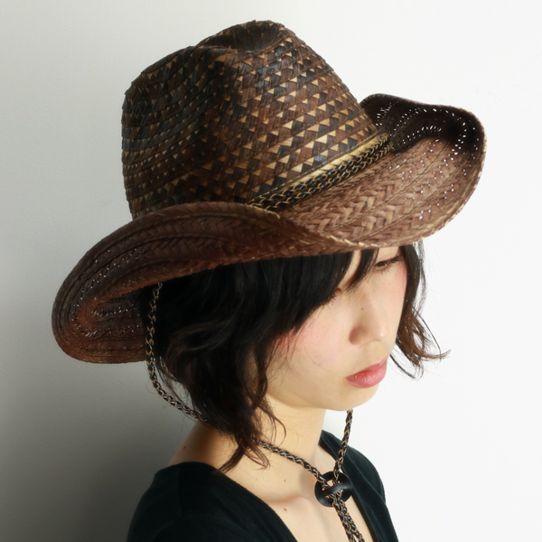 dc5fd28f1a107e ELEHELM HAT STORE: Western Hat ladies scala straw hat ladies shade spring  summer cowboy hat mens Fedora pattern mix breed Hat geometric pattern scala  hats ...