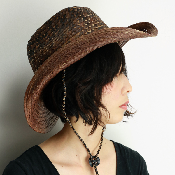 68cf9a2b42134 Western Hat ladies scala straw hat ladies shade spring summer cowboy hat  mens Fedora pattern mix breed Hat geometric pattern scala hats tied scalar  Hat ...