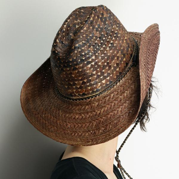 04ae9a46 ... Western Hat ladies scala straw hat ladies shade spring summer cowboy hat  mens Fedora pattern mix
