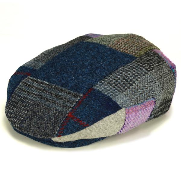 899a56e32c669 Multimedia. Brand KASZKIET. Patchwork Cap KASZKIET Harris Tweed mens winter  casket check pattern Hat multi