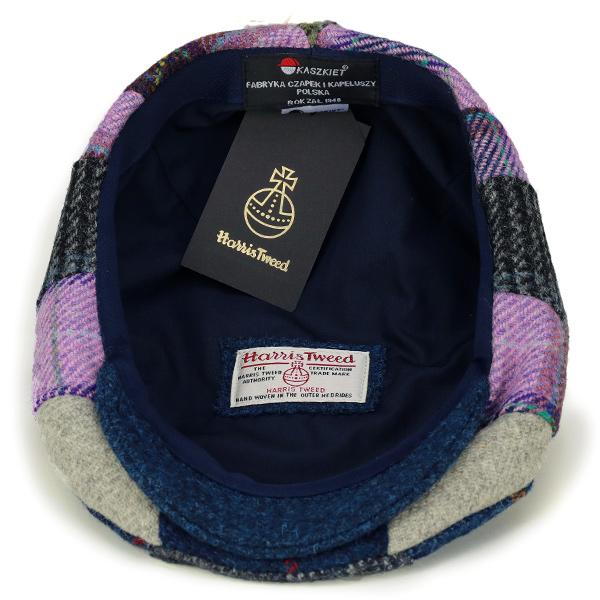 4244f9d7497a8 Hunting men s patchwork KASZKIET hunting Cap casual Harris Tweed winter  casket check pattern hats gentleman made in Poland import brands multi  (Grandpa 50s ...