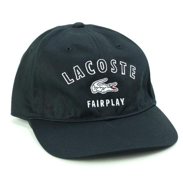 a899c856afc ELEHELM HAT STORE  Lacoste logo Cap mens Lacoste 6 Cap all season ...