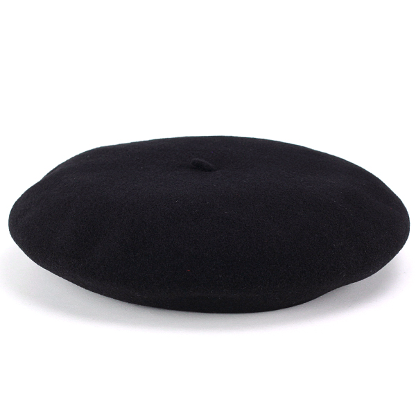 LAULHERE beret Cap mens Basque Vera hat with beret women's France brand Laurel wool autumn/winter NOIR made in France with box roller Black Black (30s 40s 50s 60s 70s fashion fall winter of Basque country) [10P01Oct16]