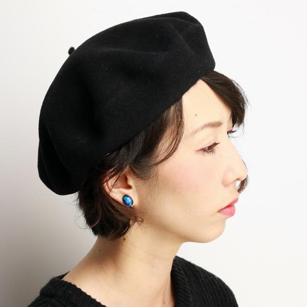 aeef8ff90f44c4 ... LAULHERE beret Hat women's Laurel autumn/winter Basque Vera ladies beret  hat made in France ...