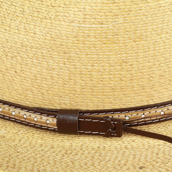 ... Great Western Hat brim wide Hat men s straw hat Stetson summer brim  wide Hat Palm blade ... 0eb29256af7