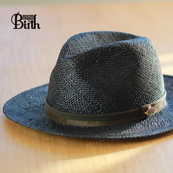 MAISON Birth straw hat men s collar wide Hat Hat turu Hat men s hat brim  wide Bao ... baeb8bc6167