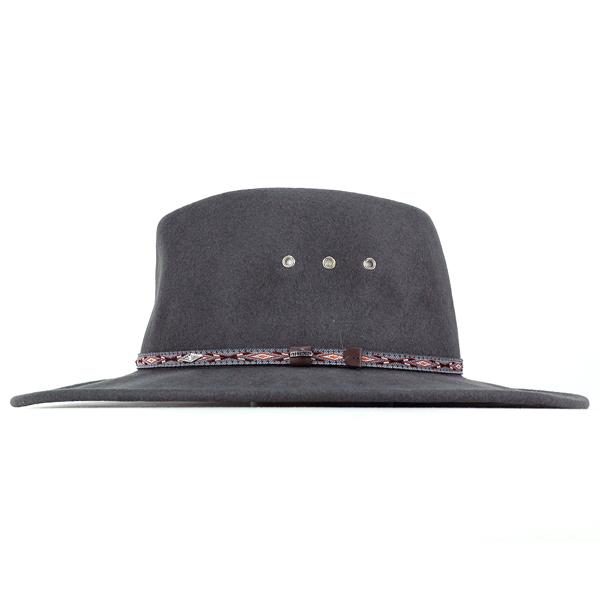 5781d3a4 STETSON cowboy hats men's autumn/winter big size Hat Stetson cowboy felt  Fedora Hat crushable Hat ELK HORN XL size and gray (Western Hat wool wool  hat ...