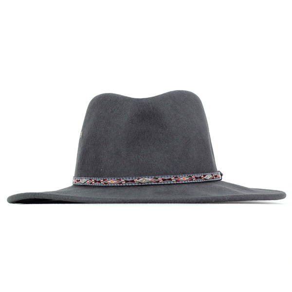 afec5cfc157bf ... STETSON cowboy hats men s autumn winter big size Hat Stetson cowboy  felt Fedora Hat crushable ...