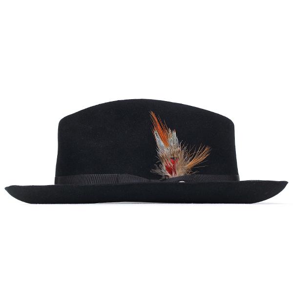 ed0e51624cd7a Stetson hat stetson 150 anniversary of turu Hat mens DOWNS Caps hats Hat  box with black Black gentlemen only (57 cm 59 cm 61 cm fall winter brand hats  felt ...