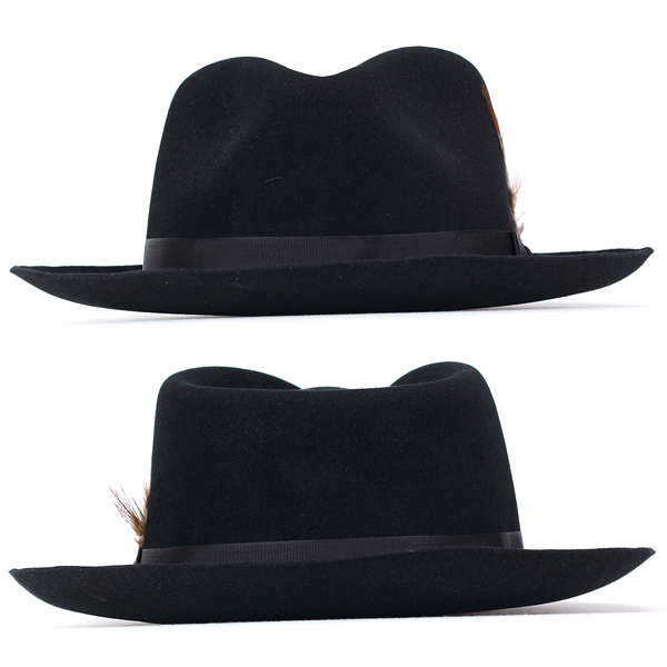 quite nice size 40 stable quality Stetson hat stetson 150 anniversary of turu Hat mens DOWNS Caps hats Hat  box with black Black gentlemen only (57 cm 59 cm 61 cm fall/winter brand  hats ...