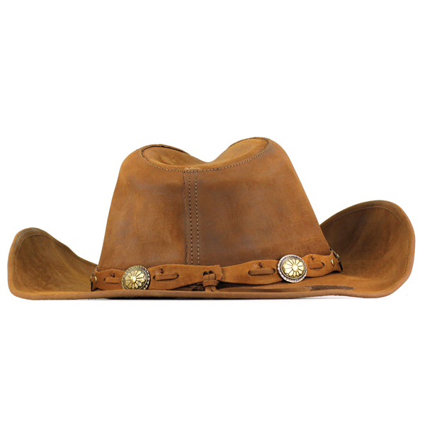 a51676786e428 Stetson cowboy hats men s autumn-winter size and hat leather stetson with  Concho Plains Hat brim wide Hat women s leather products ROXBURY made in  Mexico ...