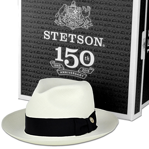 Hair men s Stetson hat brand luxury men s hair gentleman 150th anniversary  of 20 grade Panama use high quality Hat stetson special anniversary with  summer ... af40069ea61