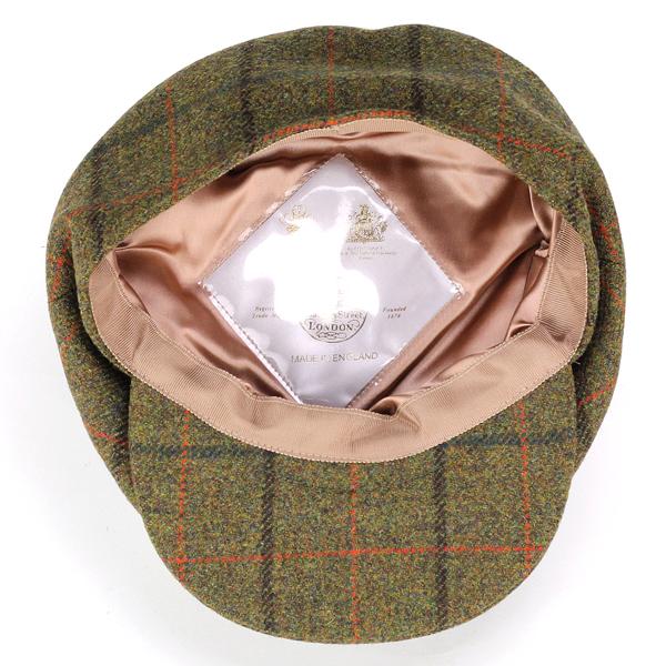 제임스 록 헌 팅 남자 james lock 헌 팅 체크 무늬가을 겨울 신사 헌 팅 모자 James Lock 및 Co 모자 위트 검사 TURNBERRY 영국제 모자 골프 브랜드 올리브 [ivy cap]