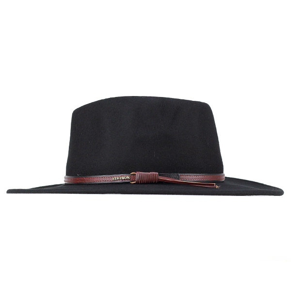 Stetson cowboy hats mens Hat brim wide Hat stetson wide brim cowboy  repellent water felt BOZEMAN black (Western wool wool hat with felt Hat  Fedora Fedora ... e42120c580f