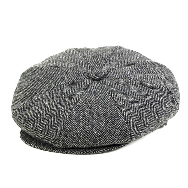 ELEHELM HAT STORE  New York Hat newsboy mens newyork hat 8-way hunting  large size hunting cars wool newsboy cap limbo in NEWSBOY U.S.A made in USA    gray ... f43ec63ba10