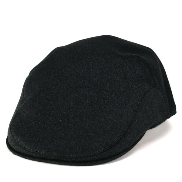 ボルサリーノ ハンチング カシミヤ100% ハンチング帽 Borsalino 大きいサイズ 秋冬 メンズ Lサイズ LLサイズ プレゼント チャコールグレー[ ivy cap ](40代 60代 50代 ファッション ブランド帽子 イタリア メンズハンチング ボルサリーノハンチング 男性 紳士帽子)