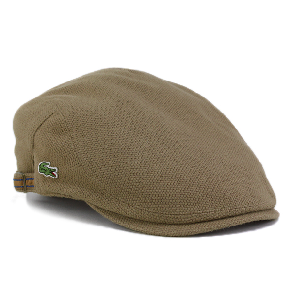 Lacoste Cap men Hat LACOSTE brushed Polo women s spring Sports Golf Cap  made in Japan beige ivy cap (gift men s hats 30s 40s 50s 60s 70s fashion  Hunting Hat ... 17a6bc35f2b