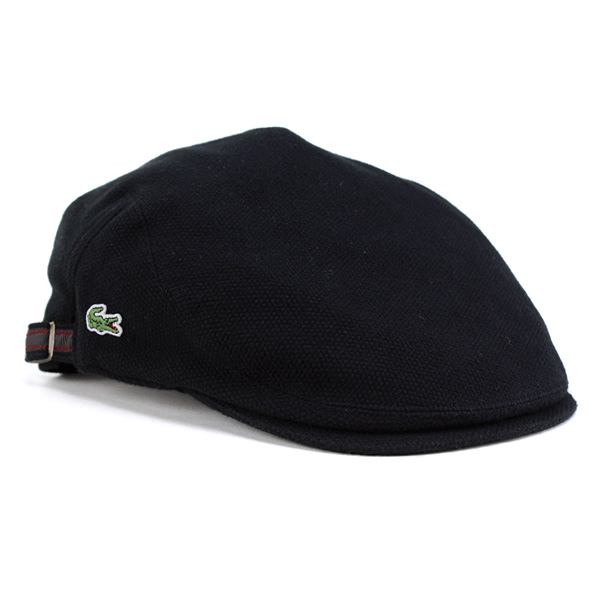 Lacoste hunting men s hat LACOSTE Hunting Hat men s brushed Polo women s  spring Wani mark Sports Golf Cap made in Japan black (aged 9c778f20075