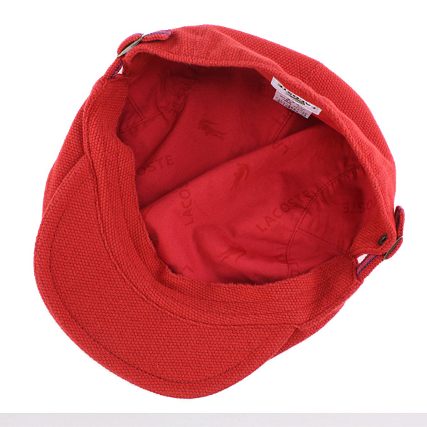fbfb7fc6a0c ... Lacoste Cap men Hat LACOSTE hunting Cap men brushed Polo women s spring  Wani mark Sports Golf