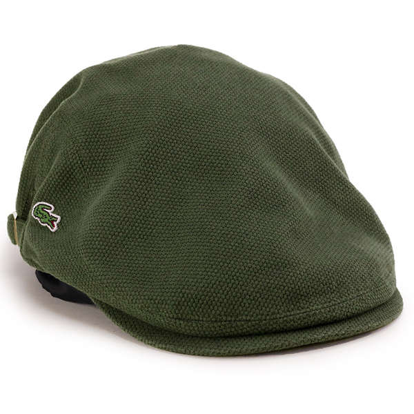 a7d6a7f8679 Lacoste Cap mens LACOSTE hunting brushed Polo Lacoste casual Hat mens  ladies   khaki (aged