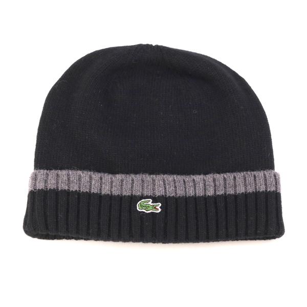 c729a63859f Lacoste knit Cap Kamon autumn winter NET watch men s lacoste Hat knit  Womens winter outdoors .