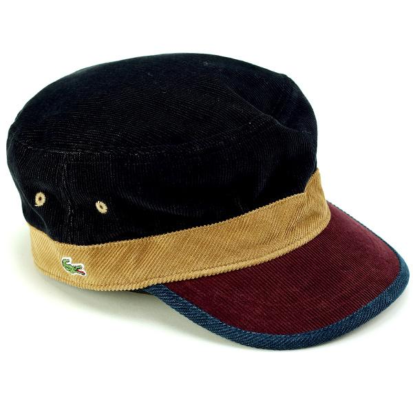 Lacoste Cap corduroy men s autumn-winter men s Cap Lacoste hat made in  Japan Wani mark ... 50e138f4d6d
