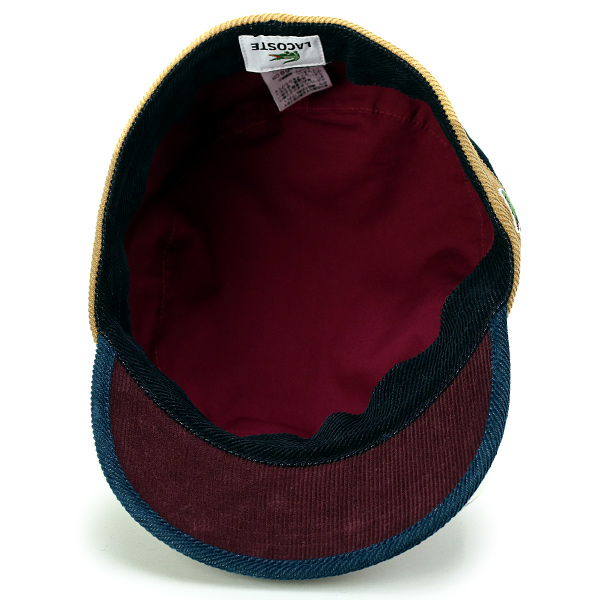 a8433a62c22 ... Lacoste Cap corduroy men s autumn-winter men s Cap Lacoste hat made in  Japan Wani mark