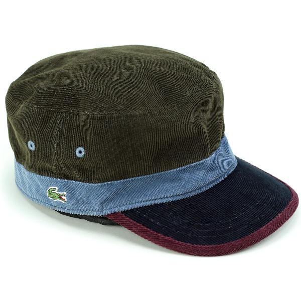 0adff70f6ac ELEHELM HAT STORE  Lacoste Cap corduroy men s autumn-winter men s Cap  Lacoste hat made in Japan Wani mark de Gaulle 3 tone color Cap gentleman  fashionable ...