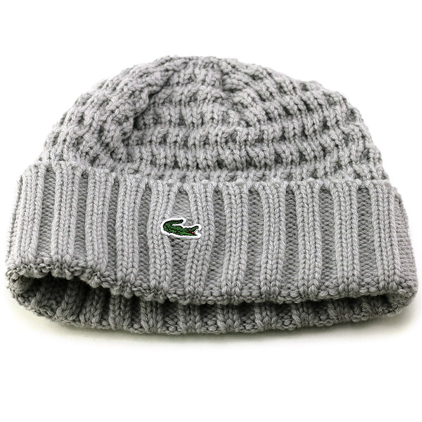 8d9260d007d ELEHELM HAT STORE  Lacoste knit hat men s fall LACOSTE NetWatch lacoste  ribbed knit hats winter outdoor sports borders knit hat women s made in  Japan Wani ...