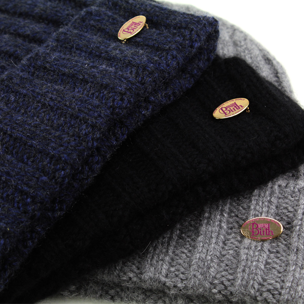 cbd59f76b4b ... Maison birth knit hat men's cashmere NET watch men's autumn/winter  Maison bath Kamon knit