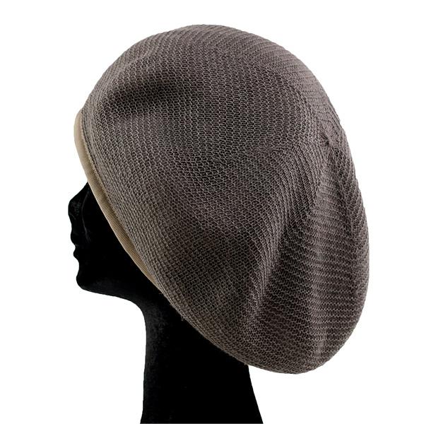 Racal beret Hat mens Japan wool local beret Cap plain fall reversible beret  men s hats beret winter wool 100% cold mesh 6 Panel L size beige of Greige  ... 22d8ef02b9c8