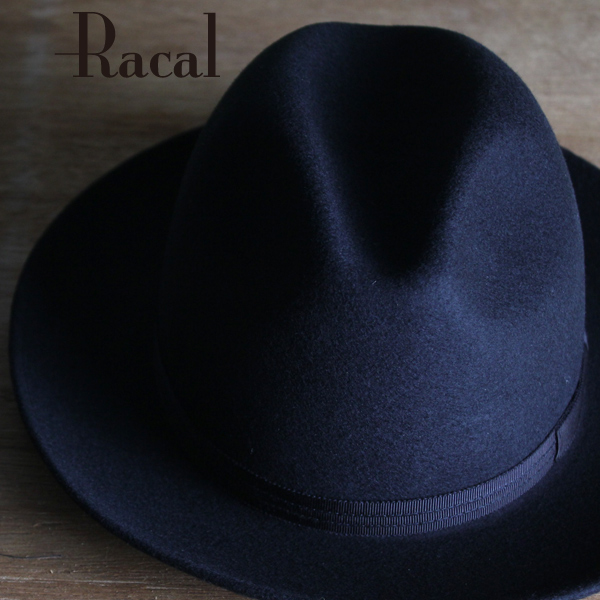 77be2ce2 Racal Hat men's autumn/winter new Fedora Hat hats men's outfit fashion  brand local triple Ribbon turu Hat wool Black Black RACAL HAT store Hat L  size ...
