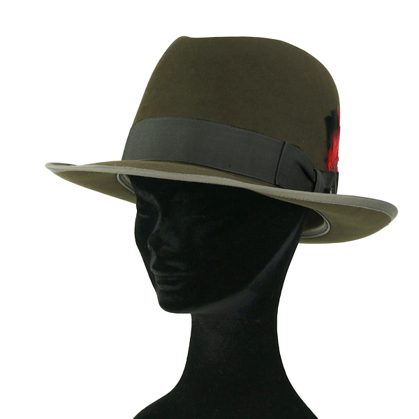 c03ce5422a383 Far felt Hat Stetson made in USA men s fall winter Hat stetson PREMIER  WHIPPET-hat with box US size 7 3 8 United States stetson mens luxury Hat  khaki series ...