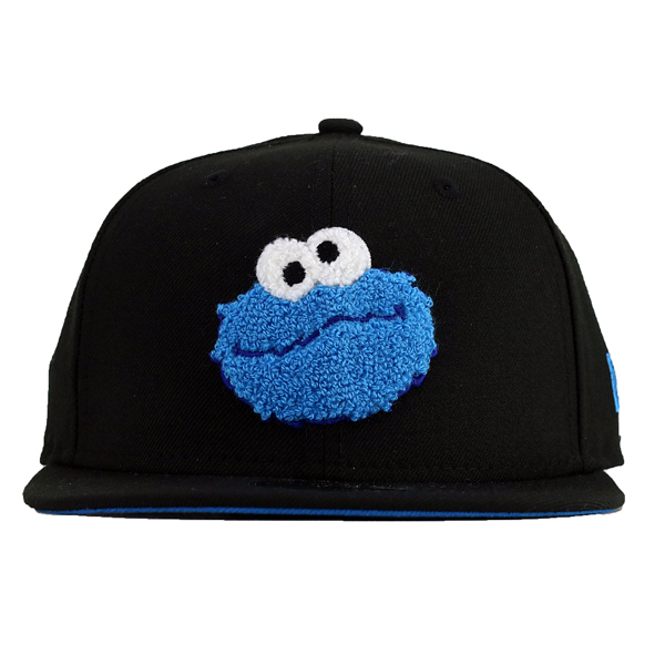 6dc49d6b905 ... NewEra Cap kids Sesame Street children s boys whats up baseball hat  size adjustable 9 FIFTY cookie ...