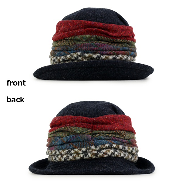 9233fbd6a4343 Crochet hats women s wool hat autumn winter herringbone GREVI hats colorful  patchwork made in Italy grevi Hat awning out GREVI women s hats fashion ...