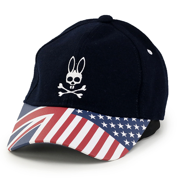 431b26fa70f83 ELEHELM HAT STORE  Psycho Bunny Cap stars and stripes pattern men s  autumn winter psycho Bunny Union Jack Cap star  amp  stripes Cap flag  pattern casual ...