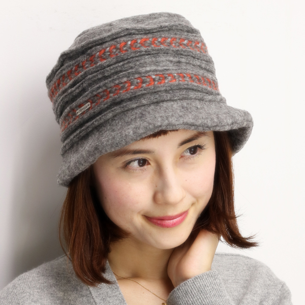 Crochet Hat Roberto idea women s autumn winter made in Italy winter wool  embroidered Hat knit ... cceaf141802