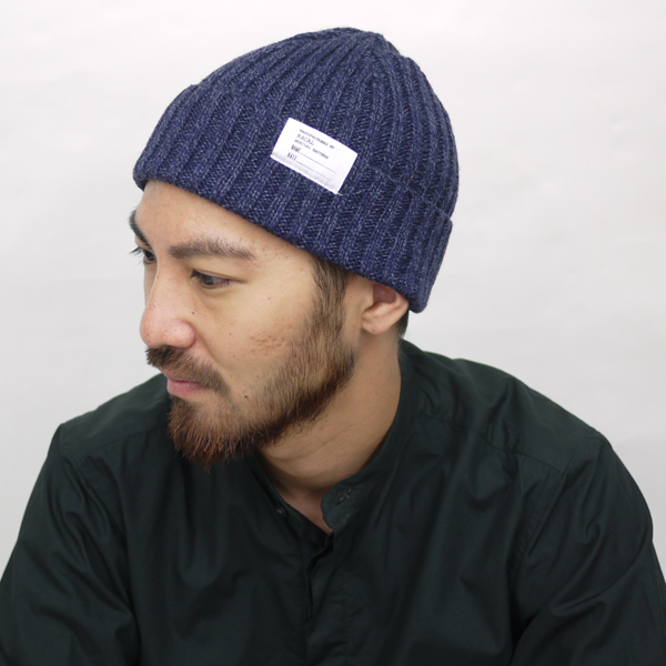 d24085abf57 Style sleek silhouette while the presence in the back part is completed.  Supporting or lead role. Basic knit cap from what s classic charm with  which outfit ...