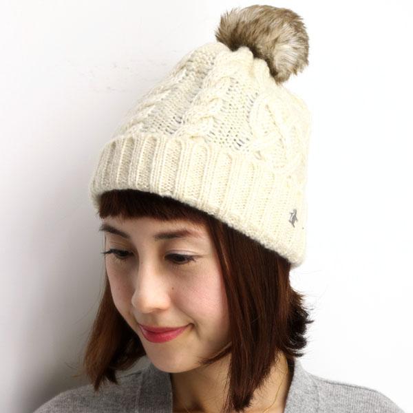 3d86967910b Munsingwear Bonbon knit hat women s Munsingwear knit hat men s fur Pom Pom  positive-Chan  pompom beanie