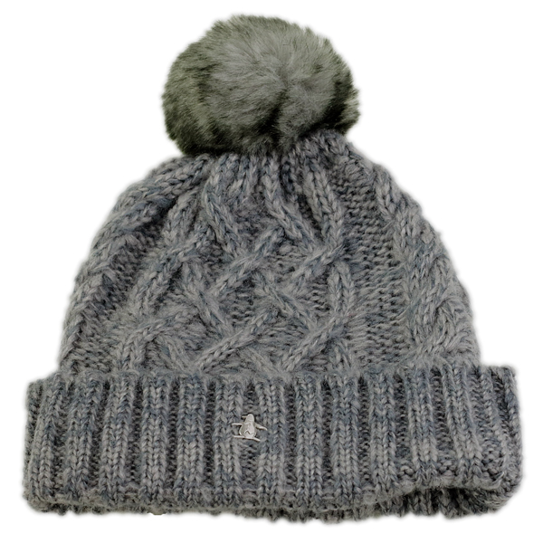 7d12eb11432f0 ELEHELM HAT STORE  Knit Cap Munsingwear ladies fall winter Bon Don ...